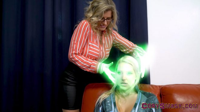 Vanessa Cage Black Widow is Controlled and Drained