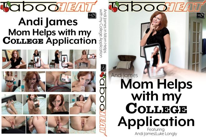 Son needs to build his Photography Portfolio for his College Application. Step-Mom Andi James offers herself to be his Nude Model and More...